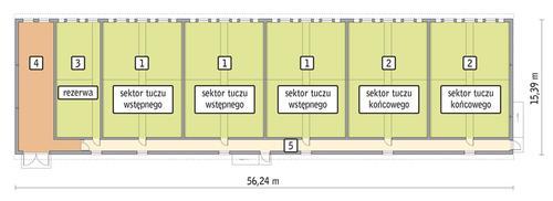 Rzut przyziemia POW. 776,3 m²