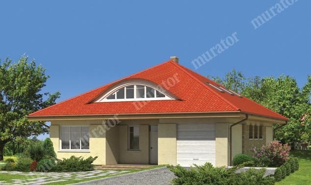 Projekt domu:  Murator EM07   – Wdzięczny (z wentylacją mechaniczną)