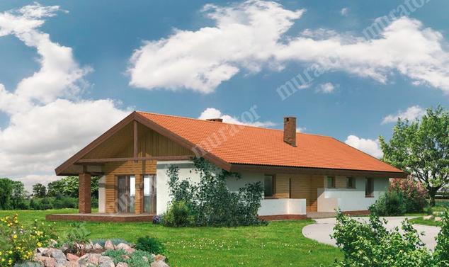 Projekt domu:  Murator WM11   – Jaskółka